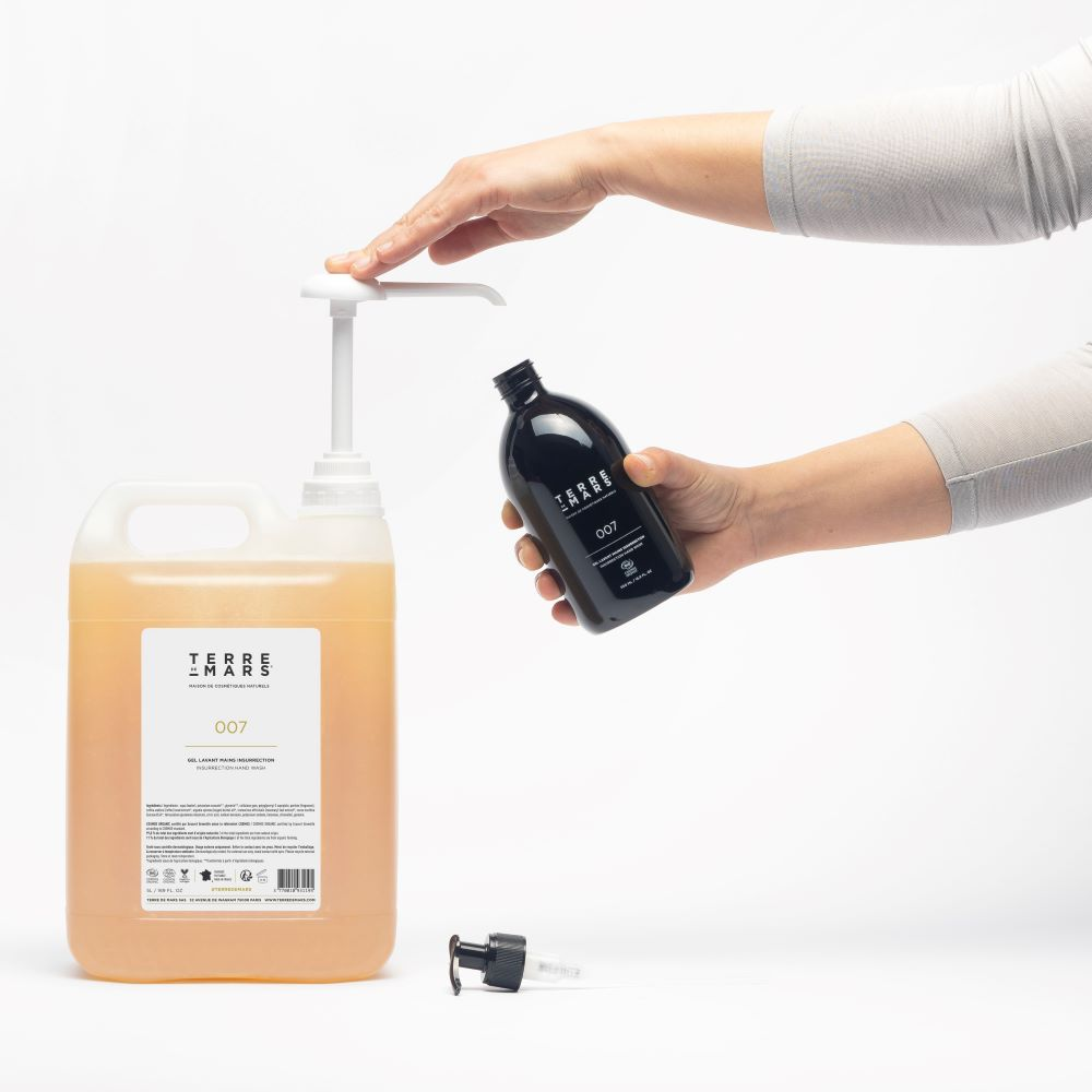 terre de mars recharge 5 litres savons mains Insurrection