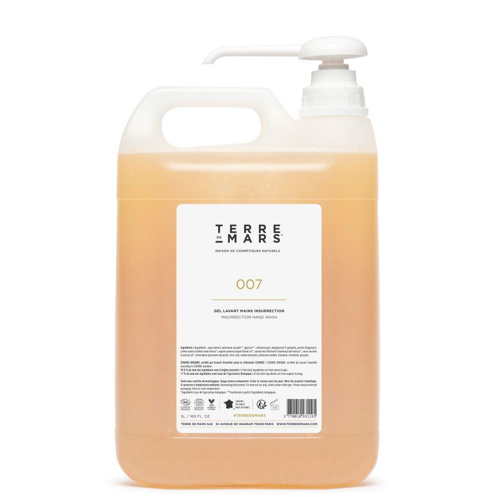 terre de mars 5 liters refill Insurrection hand wash
