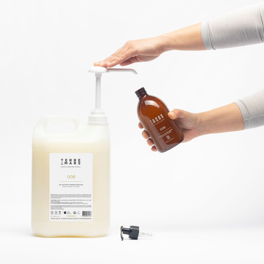 terre de mars 5 liters refill reddition body cleanser